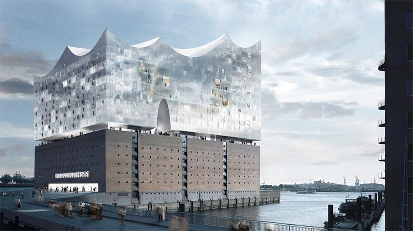 L'Elbphilharmonie à Hambourg