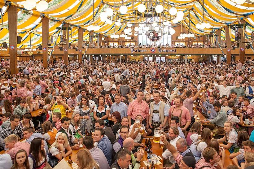 Munich, Réserver une tente pour l'Oktoberfest 2021